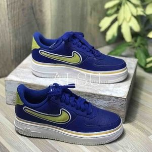 Nike Air Force 1'07 LV8 Sport Deep Royal W AUTHENT